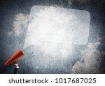 close of businesswoman making... | Shutterstock . vector #1017687025