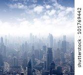 shanghai skyline | Shutterstock . vector #101769442