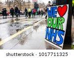 london  england. 3rd february... | Shutterstock . vector #1017711325