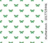 unknown butterfly pattern... | Shutterstock .eps vector #1017725446