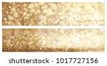 vector golden  sparkle   lights ... | Shutterstock .eps vector #1017727156