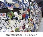 11s memorial  new york city ... | Shutterstock . vector #1017737