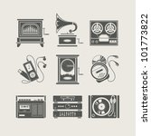 Musical Device Set Of Icon...