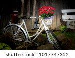 village still life with old... | Shutterstock . vector #1017747352