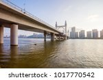 zhuhai bridge city scenery | Shutterstock . vector #1017770542