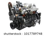 the image of an engine isolated ... | Shutterstock . vector #1017789748