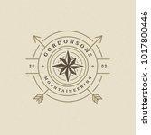 expedition logo emblem vector... | Shutterstock .eps vector #1017800446