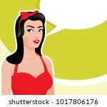 vector illustration of a retro...   Shutterstock .eps vector #1017806176