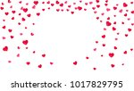 valentines day card with pink... | Shutterstock .eps vector #1017829795