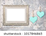 photo or picture frame blank... | Shutterstock . vector #1017846865