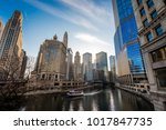 chicago old city | Shutterstock . vector #1017847735
