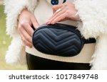 fashionable stylish belt... | Shutterstock . vector #1017849748