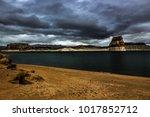 lone rock beach lake powell in... | Shutterstock . vector #1017852712