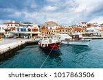 marmaris  turkey   february 03  ... | Shutterstock . vector #1017863506