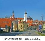 Historic City Center Pacov ...