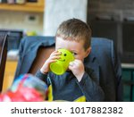 editorial use only  adorable...   Shutterstock . vector #1017882382