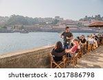 porto  portugal   october  2016 ... | Shutterstock . vector #1017886798