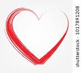 love design  vector... | Shutterstock .eps vector #1017891208