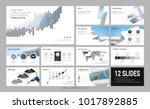 presentation slide template for ... | Shutterstock .eps vector #1017892885