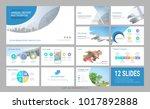 presentation slide template for ... | Shutterstock .eps vector #1017892888