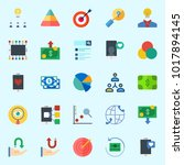 icons about marketing with...   Shutterstock .eps vector #1017894145