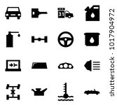origami style icon set   car... | Shutterstock .eps vector #1017904972