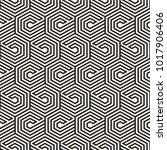 vector seamless lines mosaic... | Shutterstock .eps vector #1017906406