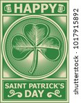 Happy St Patricks Day Poster