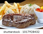 fillet of picanha with garnishes | Shutterstock . vector #1017928432