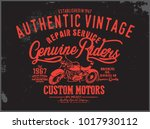 riders graphic for apparel | Shutterstock .eps vector #1017930112