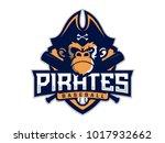 modern professional emblem... | Shutterstock .eps vector #1017932662