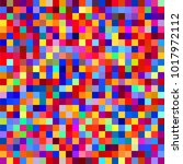 colorful seamless colorful... | Shutterstock .eps vector #1017972112