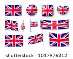 Set United Kingdom Flags ...