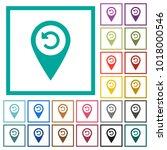 undo gps map location flat...   Shutterstock .eps vector #1018000546