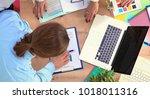 image of business partners...   Shutterstock . vector #1018011316