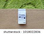 polypropylene green carpet... | Shutterstock . vector #1018022836