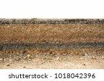 Small photo of Underground road layer asphalt road.