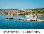 argostoli  kefalonia  greece    Shutterstock . vector #1018047892