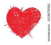 heart  icon.love symbol... | Shutterstock .eps vector #1018078582