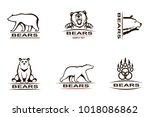 collection of various... | Shutterstock .eps vector #1018086862