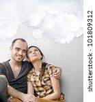 closeup portrait of adult... | Shutterstock . vector #101809312