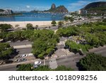view of sugarloaf mountain from ... | Shutterstock . vector #1018098256
