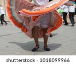 Small photo of Traditional knickers of a colombian dancer