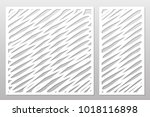 template for cutting. abstract... | Shutterstock .eps vector #1018116898