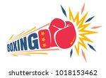 vector vintage logo for a... | Shutterstock .eps vector #1018153462