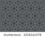 seamless pattern in authentic... | Shutterstock .eps vector #1018161478
