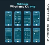 mobile wireframe app ui kit 48.
