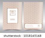 luxury premium menu design... | Shutterstock .eps vector #1018165168