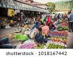 stone town  tanzania   january... | Shutterstock . vector #1018167442