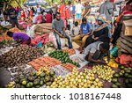 stone town  tanzania   january...   Shutterstock . vector #1018167448